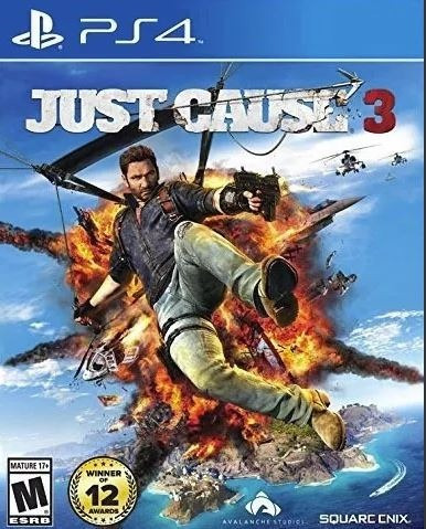 just cause 3 ps4 usado físico