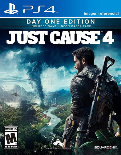just cause 4 / day one edition / juego físico / ps4