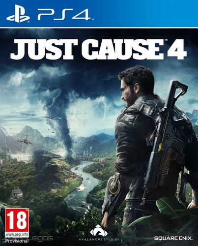just cause 4 ps4 (disco fisico)
