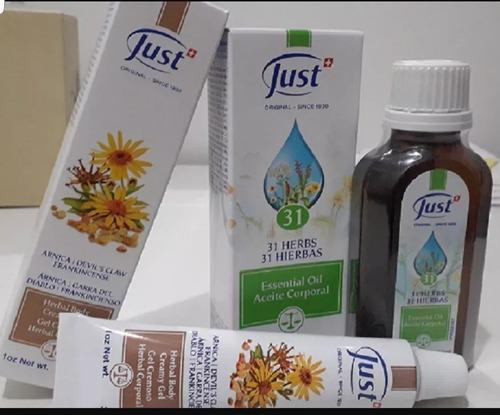 just crema lavanda herbal corporal hamamelis 60gr oferta