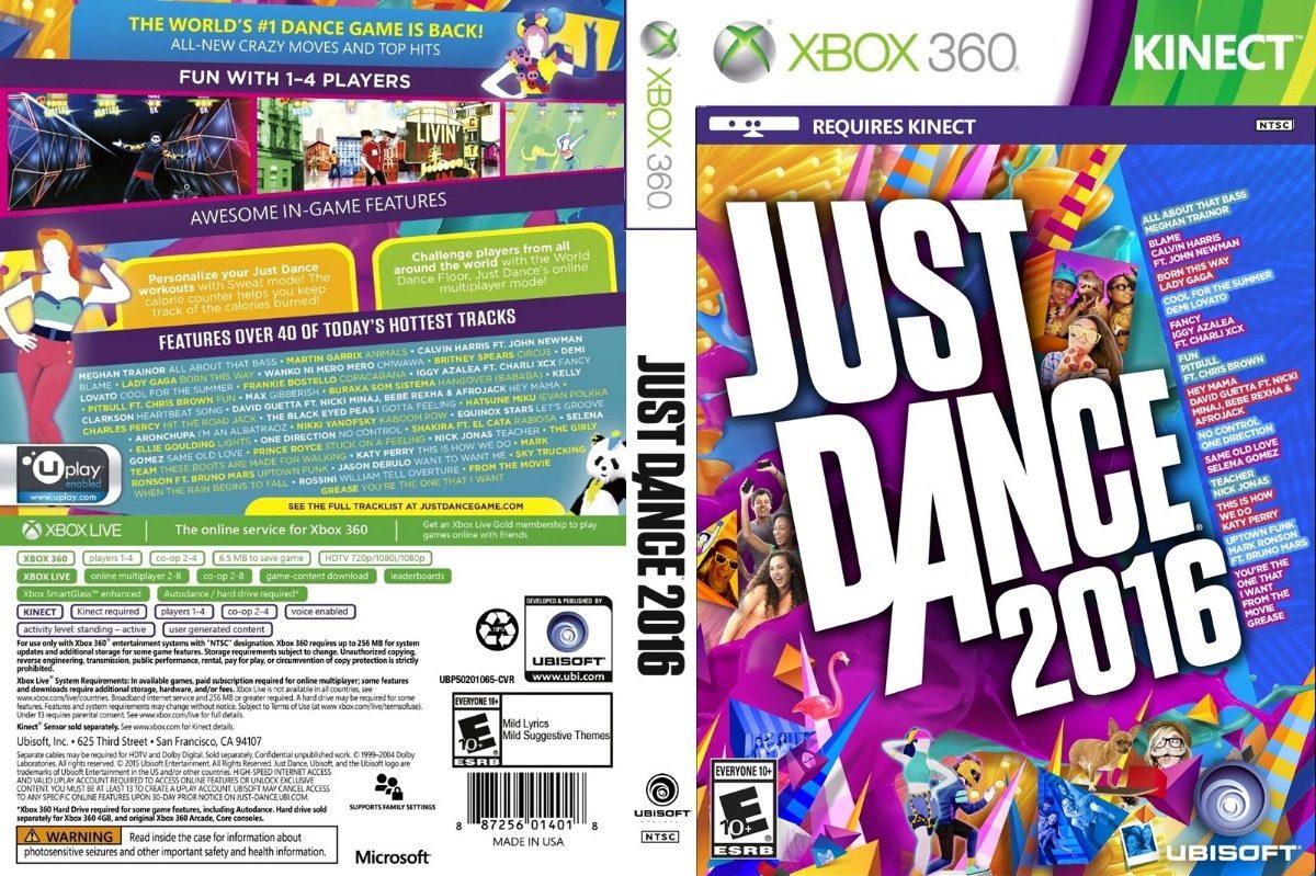 Just Dance 2016+2017+2018 Xbox 360 - Patch- Frete Gratis - R  52 aa75cbe56f4