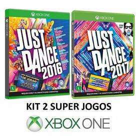 Just Dance 2017 + 2016 - Portugues - Midia Fisica - Xbox One