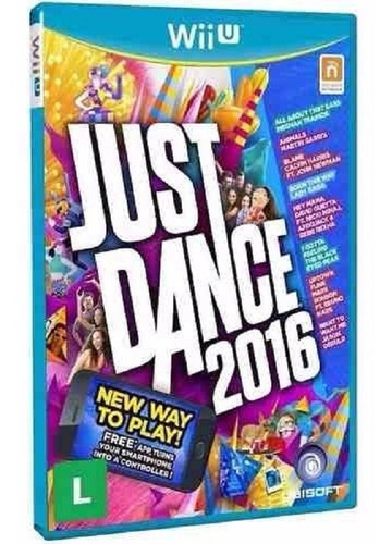 just dance 2017 + 2016 - midia fisica lacrado nintendo wii u