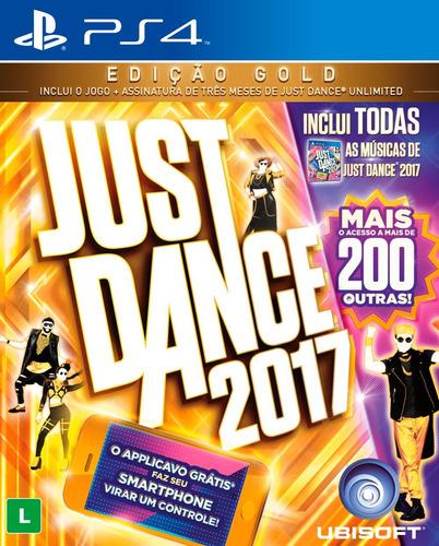 just dance 2017 - edição gold - ps4