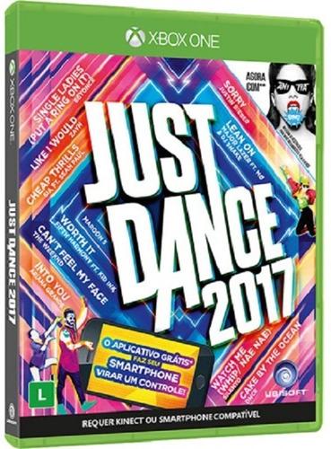 just dance 2017 versão em portugues - midia fisica xbox one