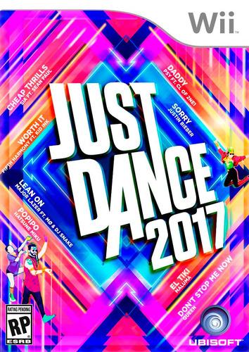 just dance 2017 wii original físico con envío gratis alclick
