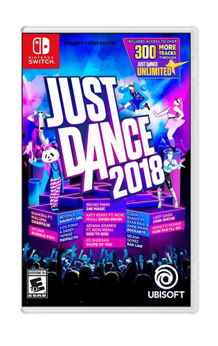 just dance 2018 / nintendo switch
