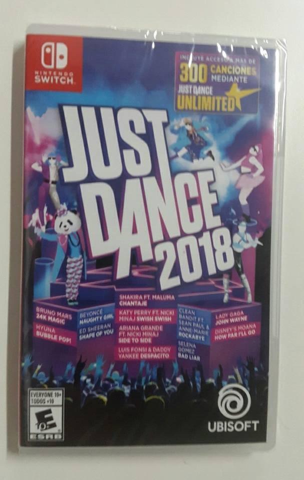 Just Dance 2018 Nintendo Switch Nuevo Sellado Cuotas 2 000 00