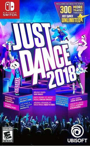 just dance 2018 nintendo switch (nuevo y sellado de fabrica)