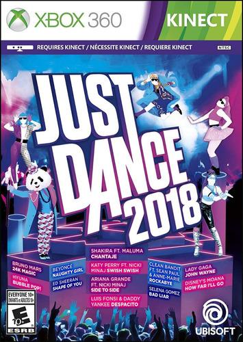 just dance 2018 para xbox 360 (en d3 gamers)