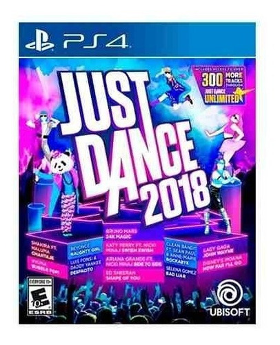 just dance 2018 ps4 - juego fisico - prophone