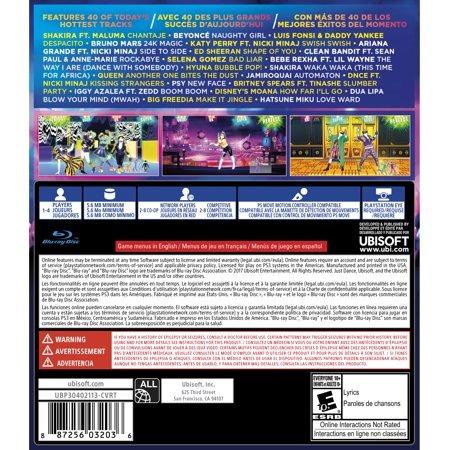 Just Dance 2018, Ubisoft, Playstation 3, 887256032036 - $ 231 200 en