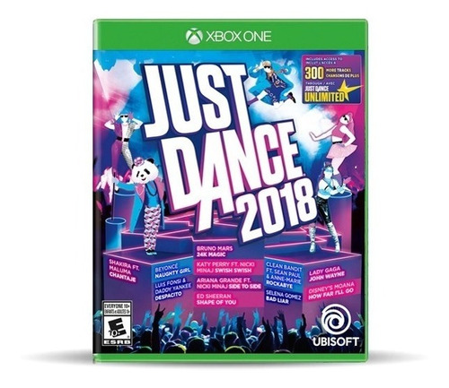 just dance 2018 xbox one. envios gratis.