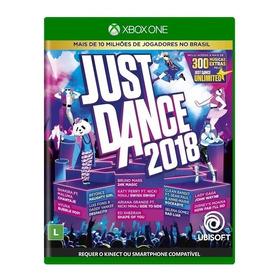 Just Dance 2018 Xbox One Mídia Física Nacional Lacrado Rj