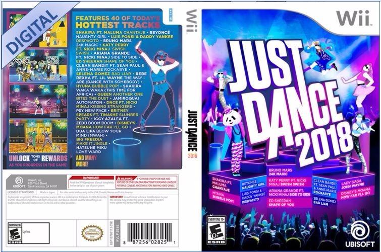 Just Dance 2019 2018 Digital Para Wii Original Promo 499 00