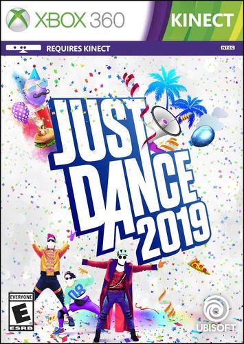 just dance 2019 2018  ntsc xbox 360 dvd fìsico calidad 3.0