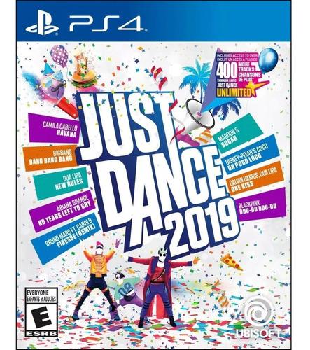 just dance 2019 físico ps4 nuevo envio gratis 6 cuotas s/int
