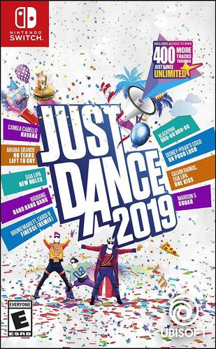 just dance 2019 nintendo switch nuevo fisico envio gratis