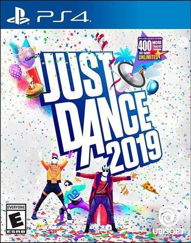 just dance 2019 ps4 juego nuevo cd original fisico sellado