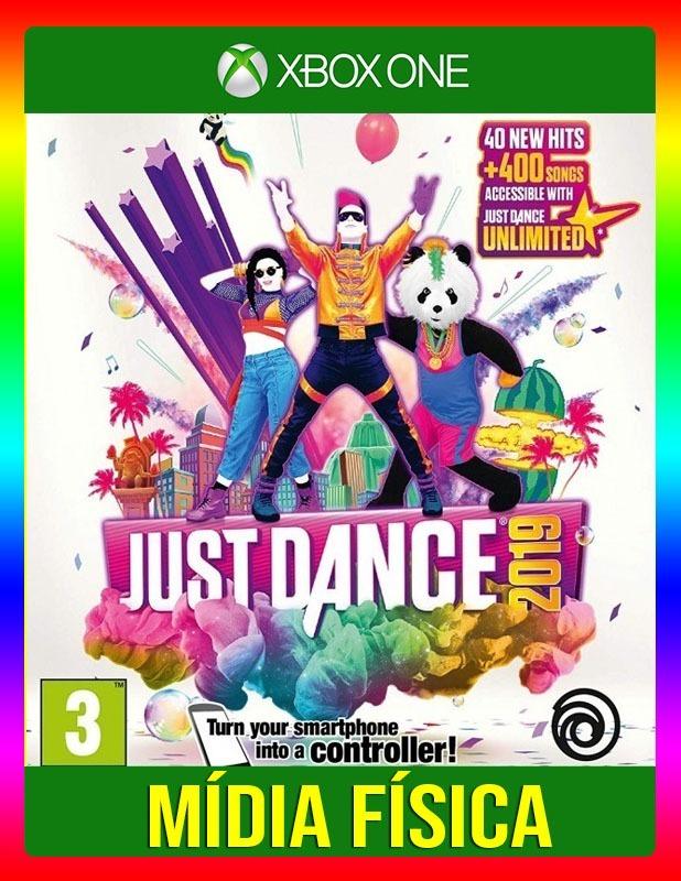 Just Dance 2019 Xbox One - Lacrado (mídia Física)