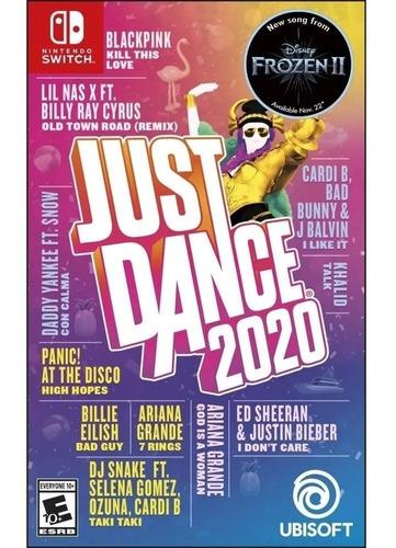 just dance 2020 nintendo switch juego fisico sellado nuevo