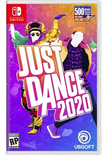just dance 2020 nintendo switch nuevo sellado 100% original
