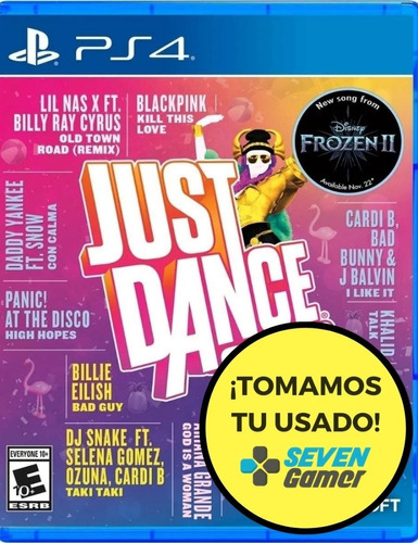 just dance 2020 ps4 juego fisico sellado original sevengamer
