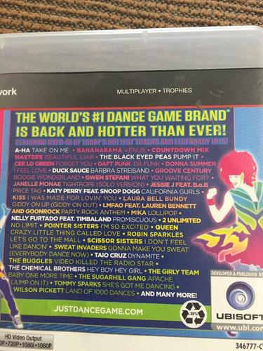 just dance 3 play station ps3 move + de 45 tracks usado