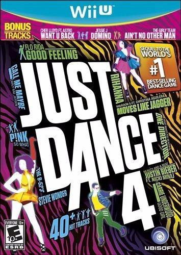 just dance 4 nintendo wii u nuevo sellado envio gratis