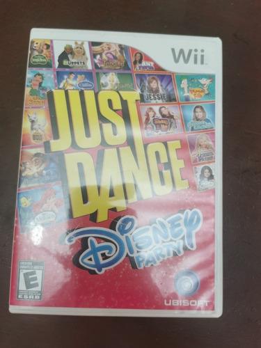 just dance disney para niños nintendo wii