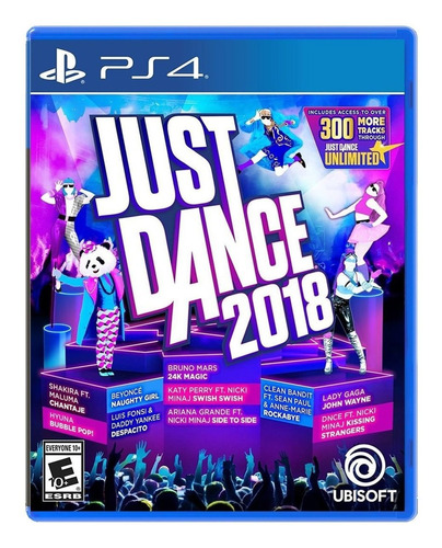 just dance ps4