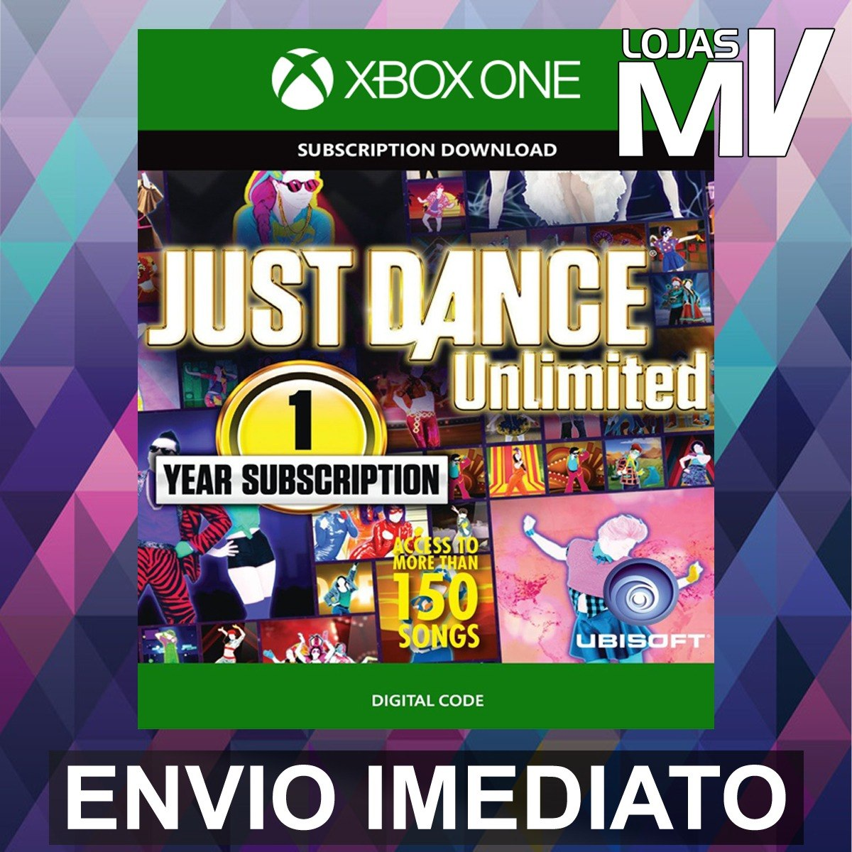 Just Dance Unlimited Passe 12 Meses Xbox One
