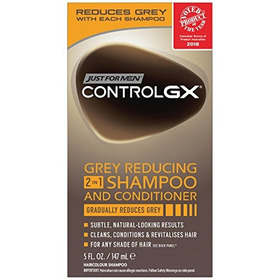 Just For Men Control Gx 2 In 1 Shampoo And Conditioner, 5 Fl