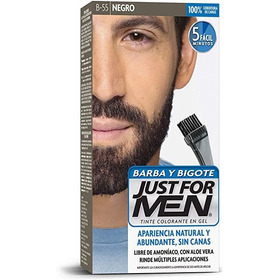 Just For Men Tintura Barba&bigote Negro Envío Gratis