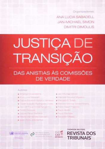 justiça de transição: das anistias às comissões de verdade