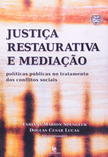 justiça restaurativa e mediação - políticas públicas no...