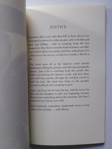 justice -  editorial oxford inglés - libro nuevo