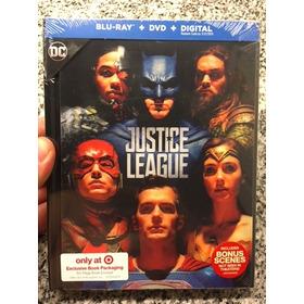 Justice League - Blu Ray Target Lenticular Digibook Liga