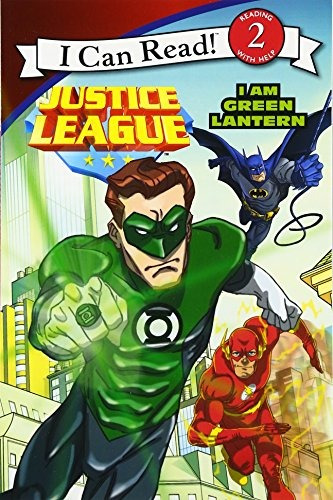 justice league classic: i am green lantern (i can read leve