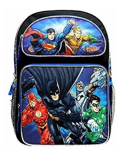 justice league large 16  backpack # jl34940