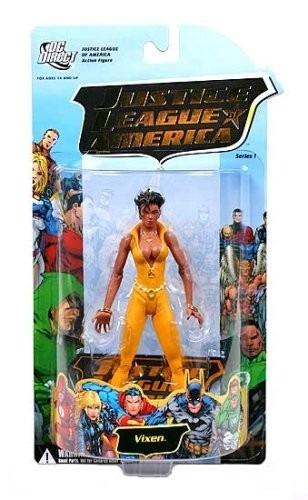 justice league of america 1: vixen action figure