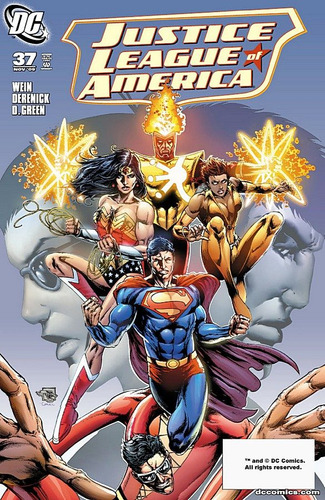 justice league of america #37 - wein - derenick - inglés
