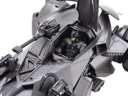 justice league ultimate batmobile rc vehículo y figura
