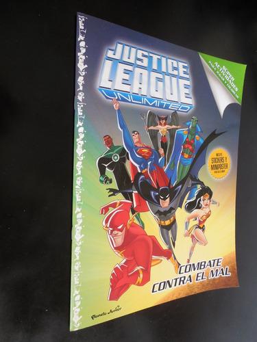 justice league unlimited combate contra el mal