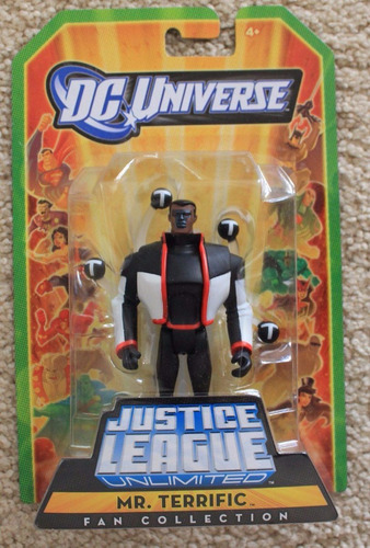 justice league unlimited mr terrific dc universe trabucle