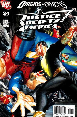 justice society of america  # 24 - johns - ordway - wiacek