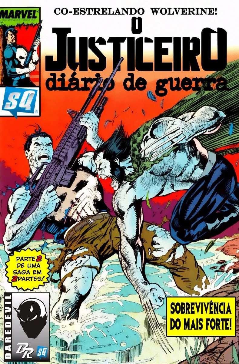 Resultado de imagem para JUSTICEIRO: DIÁRIO DE GUERRA  1988 # 07