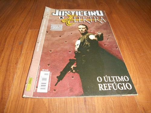 justiceiro & elektra nº 7