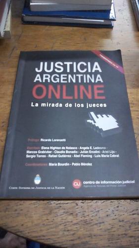 justicia argentina online la mirada de los jueces