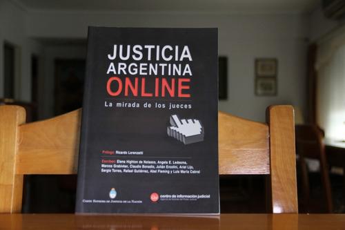 justicia argentina online - prólogo ricardo lorenzetti